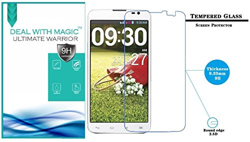 Magic Transparent Tempered Glass 2.5 Curve screen Protector For Lg G Pro Lite D686  available at amazon for Rs.159