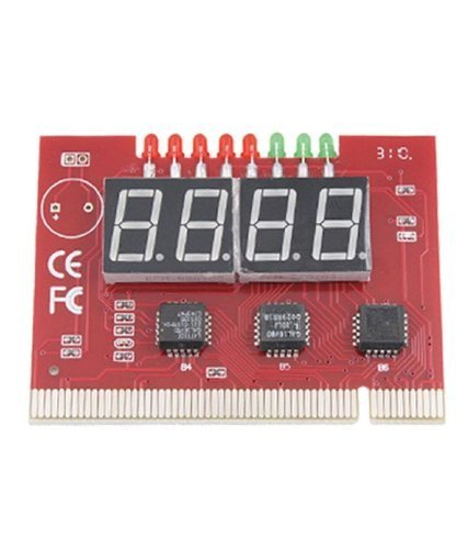 Inspire PC 4 Digit Diagnostic Analyzer Card Motherboard Tester  available at amazon for Rs.399