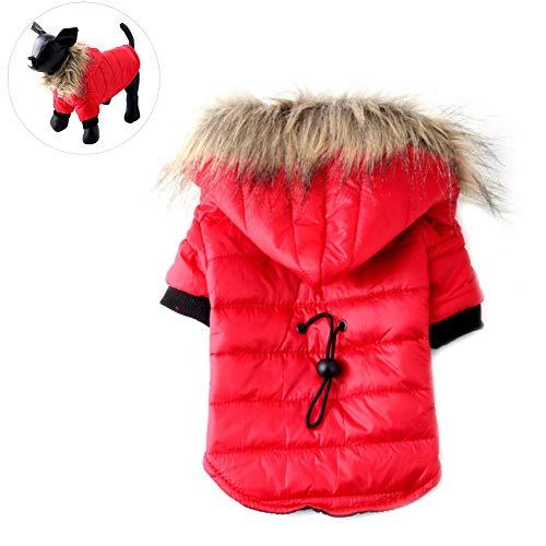 Hundekleidung Hundemantel Hundejacke Hundepullover Warm Winter für Kleine und große Hund(XS - XL) (Tier Kostüm Für Große Hunde)