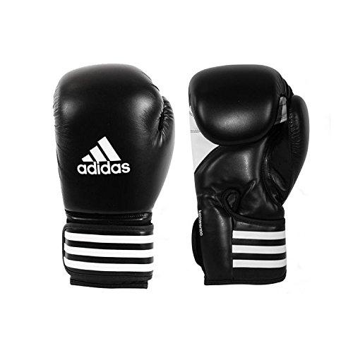 adidas Unisex- Erwachsene Kpower 100 Kickboxhandschuhe, Schwarz, 12 oz