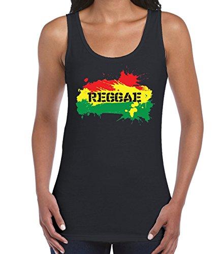 Reggae Splash Women's Vest Tank Top
