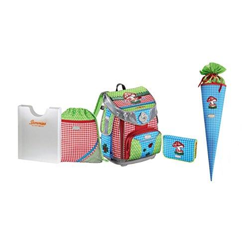 Sammies Premium Plus - Schulranzen Set 4 tlg. + kostenlose Schultüte - Color Joy