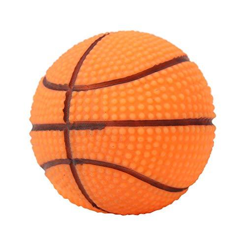 GLOGLOW 2 Tipi di Animali Squeaky Ball- Realizzato da Materiale Non tossico Morbido addestramento del Cane Che Gioca a Masticare Palla con Il Suono del Giocattolo del Cucciolo