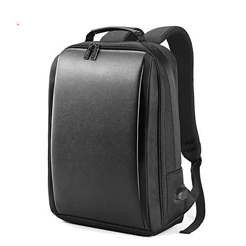 F-JX Professioneller Unisex-Business-Rucksack mit USB-Ladeschnittstelle, schlanker und Leichter Laptoptasche, Rucksack mit großer Kapazität zum Arbeiten/Lernen/Reisen