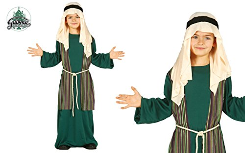 Hirte Kostüm grün Judeo-Arabisch-Krippe 3/4-Jahr-altes Kind