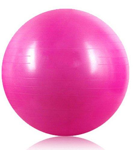 Kabalo Rose 65cm ANTI BURST GYM exercice Yoga SWISS ballon de fitness pour femmes enceintes naissance, etc (y compris pompe) (Pink 65cm ANTI BURST GYM EXERCISE SWISS YOGA FITNESS BALL for PREGNANCY BIRTHING, etc (including pump)) Accueil du matériel de gymnastique!
