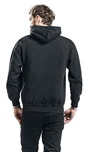 Speed Garage Hood Sweat à capuche noir Noir