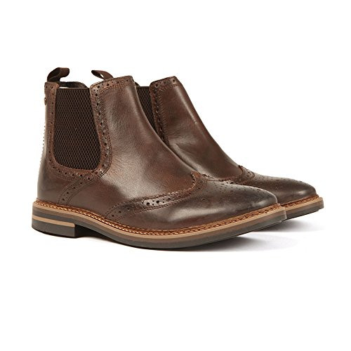 Base London Riley, Bottines Chelsea Homme Cacao