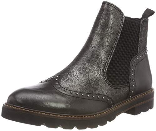 MARCO TOZZI Damen 25422-21 Chelsea Boots, Grau (Anthracite A.C 229), 40 EU