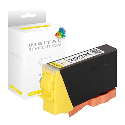 Digital Revolution Tintenpatrone | HP 364 gelb | kompatible XXXL Druckerpatrone | 14,6 ml | Tintenpatrone passend für HP Deskjet, HP Officejet, HP Photosmart