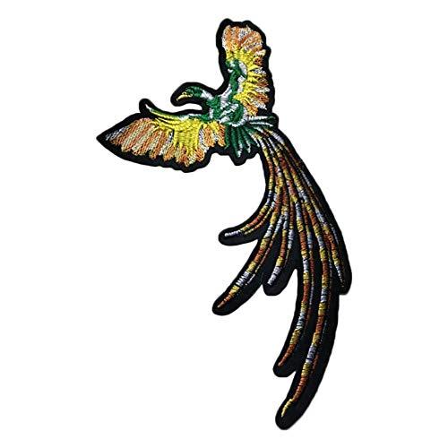 Cupcinu DIY dekorative Tuch Aufkleber Rose Taro Phoenix Paar Liebe Vögel schön bestickte Kapitel Kostüme size 20cm*13cm (Stil-1)