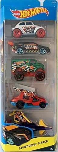 Mattel Hot Wheels Stunt Devil 5-er Geschenkset