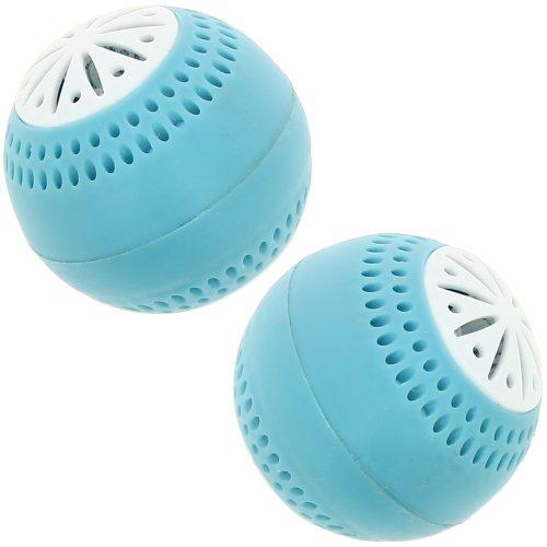 Promobo Bleu réfrigérateur Désodorisant Balles (Lot de 2)