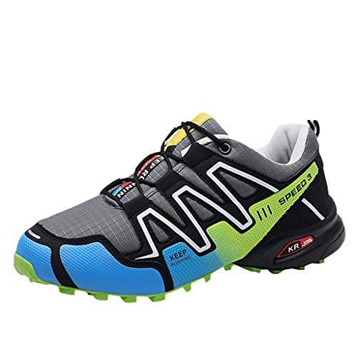 Makefortune-Sandalen Ankle-Wanderschuhe für Herren, atmungsaktive Trekkingschuhe, Rutschfeste leichte Schuhe für alle Jahreszeiten für Wandern, Reisen, Backpacking, Camping, Trekking, Radfahren (Jordan Männer 12 Größe Schuhe)
