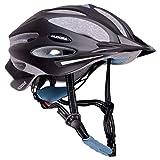 HUDORA Fahrradhelm Granit Damen Herren, Fahrrad-Helm Rad-Helm Gr. 55-61, schwarz/blau