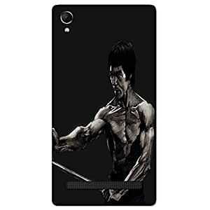 BRUCE LEE BACK COVER FOR INTEX AQUA POWER PLUS