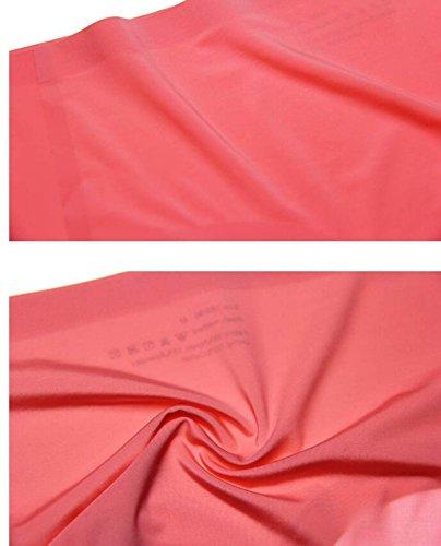 POKWAI Frauen 3-4 Pack Indifferente Unterwäsche Thin Sexy Taille Glaze Breath Paket-Hüfte-Farbe 24