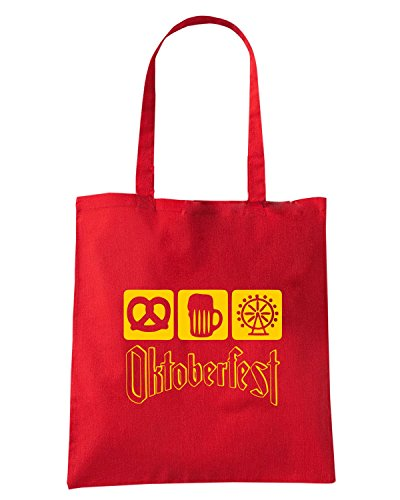 T-Shirtshock - Borsa Shopping BEER0006 Rosso