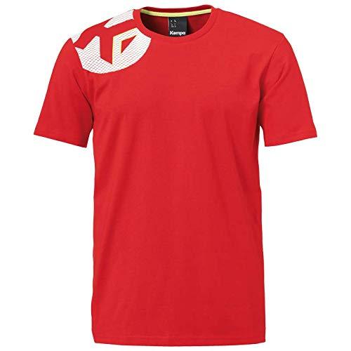 Kempa Core 2.0 T-Shirt Herren, rot, XL