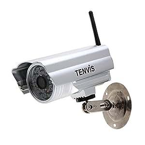 Hot-sale Tenvis IP 602W CCTV caméra IP de surveillance Wifi sans fil à l'extérieur étanche Vision noucture , portée 20 mètres MAX de GLOBALEBUY , tout neuf