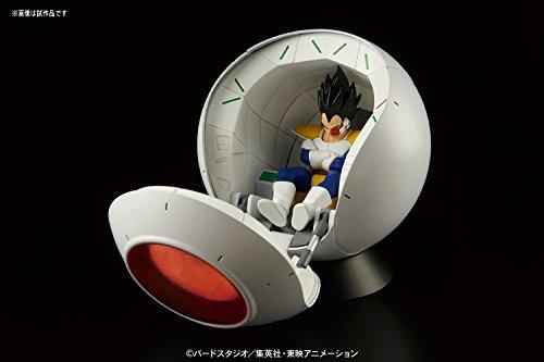 Bandai Hobby- Saiyan Space Pod Model Kit Replica 25 cm Dragon Ball Z Figure-Rise Mechanics 83330P, Multicolor… 2