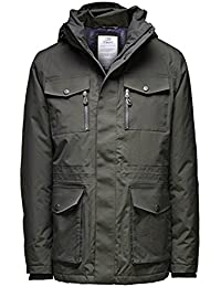 b6fb100a5b1d59 Jack   Jones Premium Tech Catch 2-Layer Daunen Jacket mit abnehmbarer Kapuze