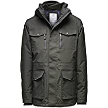 d96bf45eac24be Jack   Jones Premium Tech Catch 2-Layer Daunen Jacket mit abnehmbarer Kapuze