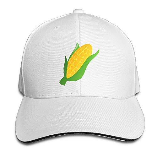 Presock Prämie Unisex Kappe Corn Adult Adjustable Snapback Hats Trucker Cap