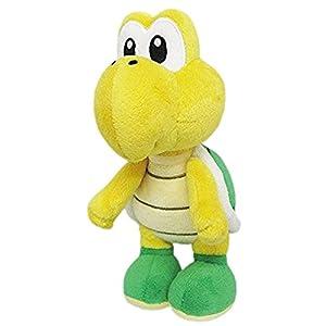 Super Mario Peluche Koopa de 24cm, Licencia Oficial de Nintendo gmsm6p01koopanew Bros