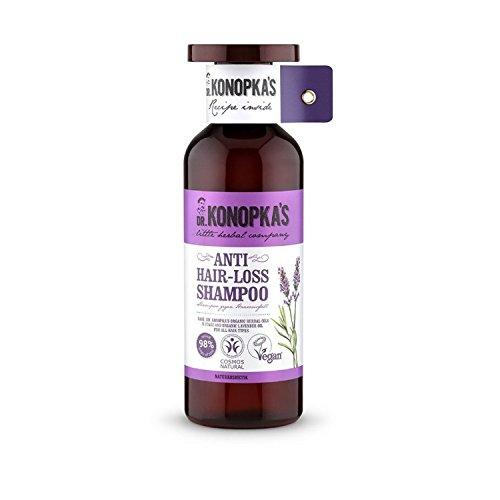DR KONOPKA'S - Anti-Haarausfall-Shampoo - mit verstärkenden Vitaminen - 98% natürlich - Vegan - 500 ml -