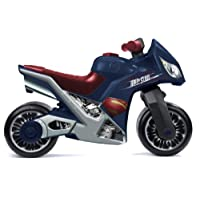 """Molto 73 cm """"Cross Superman"""" Motorcycle for Children (Blue/Red)"""