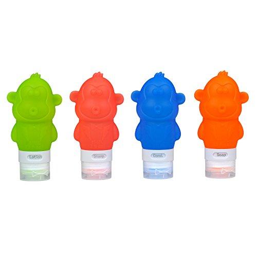 conjunto-de-botellas-de-viaje-de-silicona-forma-de-mono-squeezable-y-recargable-de-viaje-recipientes