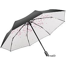 Sombrilla para el sol Lluvia y lluvia Sombrilla para mujer súper ultra fresca con protección UVA
