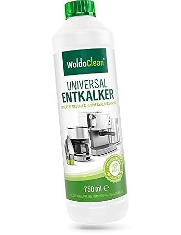WoldoClean Entkalker für Kaffeevollautomaten 750ml Kaffee-Maschine Wasserkocher Kalklöser