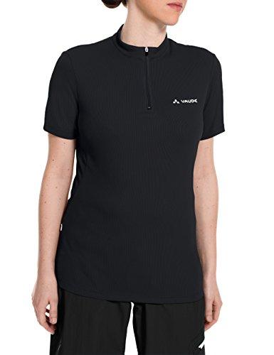 VAUDE Damen Trikot Women's Brand Tech Shirt, Black, 42, 05692 (Rad-trikots Spezielle)