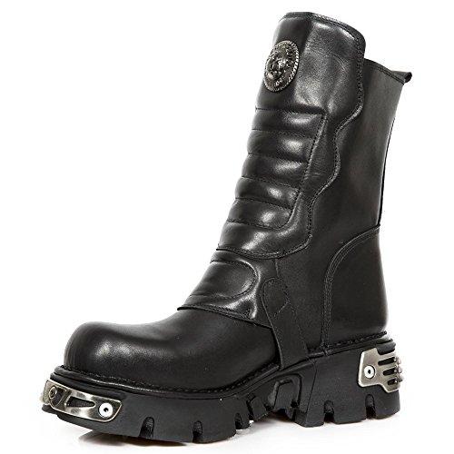 New Rock Unisex-Erwachsene M-391x-s1 Biker Boots, Schwarz, UK 3.5, UK 3.5 Schwarz
