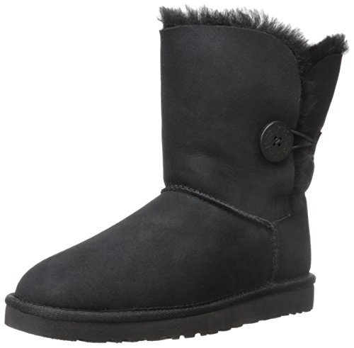 Ugg Bailey Button 5803, Stivali Donna, Black, 38