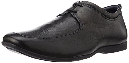 Hush Puppies Men's James Black Leather Formal Shoes - 10 UK/India (44 EU)(8546604)