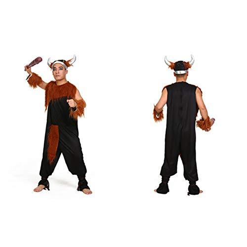 Paare Halloween Kostüm Ein Namen - BGFDSV Adult Paare Halloween Festival Kostüm Outfit für Mann Frauen, Mann