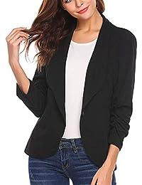 d0124159cf4ee Amazon.es  Logobeing - L   Trajes y blazers   Mujer  Ropa