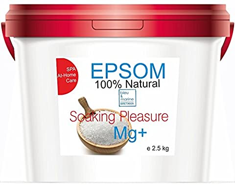 Pure Epsom Salt 2.5 kg Natural Magnesium