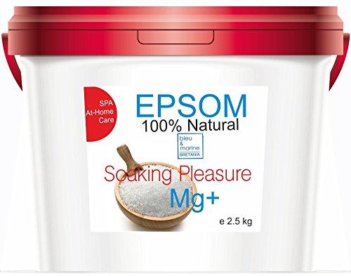 Sale di Epsom 2.5 kg Magnesio Naturale  Viso e Bagno...