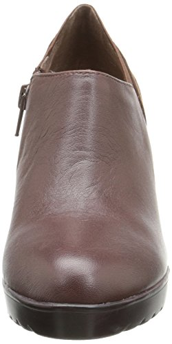 Bella Vita Zofia Large Cuir Bottine Chestnut-Lizrd