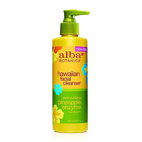 Alba Botanica Pineapple Enzyme Facial Cleanser (1x8 Oz) -