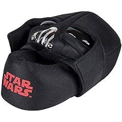 Star Wars - Zapatillas de estar por casa cerrada, color negro (28)