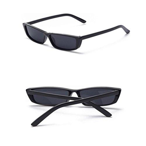 TWBB Retro Mode Reise Strand Kleine Kiste Katzenauge Sonnenbrille (A)