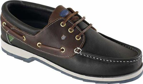 Dubarry, Scarpe da barca uomo, Multicolore (Navy/Brown), 9.5 UK