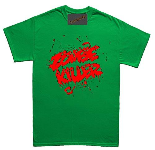 Renowned Zombie Killer Herren T Shirt Grün