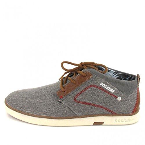 Dockers by Gerli 38se001-706200, Sneakers Basses Homme Gris (Grau 200)