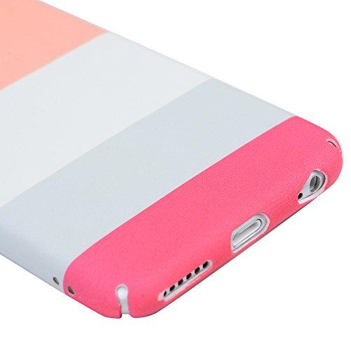 iPhone 6/6S Hardcase iPhone 6/6S Hülle YOKIRIN Premium Handyhülle Hartplastik Painted PC Case Schutzhülle Handytasche Tasche Schale Cover Backcase Scales Thick Stripes